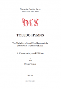 Bruno Turner, Toledo Hymns, title page